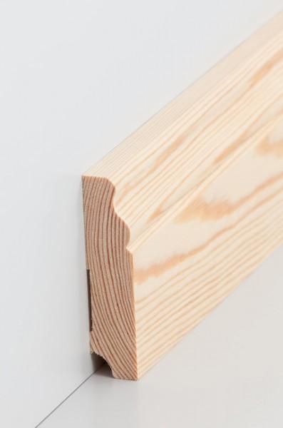 Hamburgerleiste Massivholz 19x80mm Kiefer roh