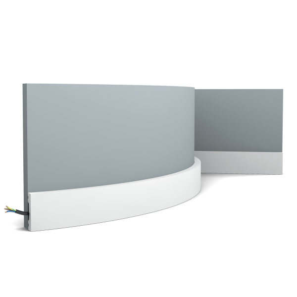 Sockelleisten SX162F SQUARE ORAC DECOR