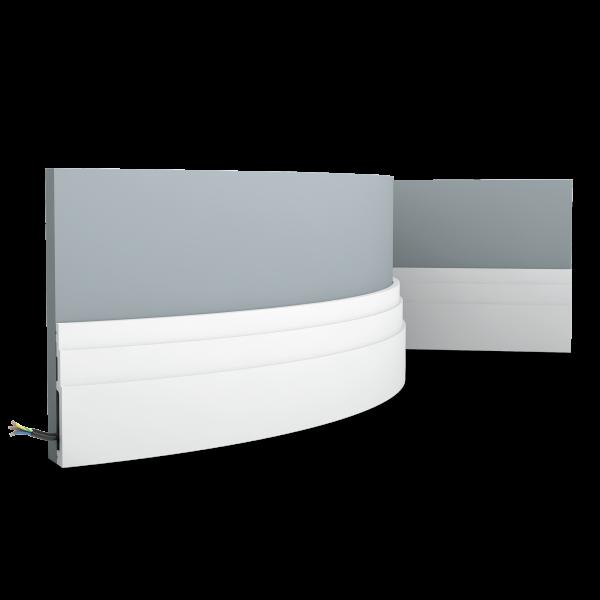 Sockelleiste SX180F HIGH LINE ORAC DECOR Duropolymer / AXXENT