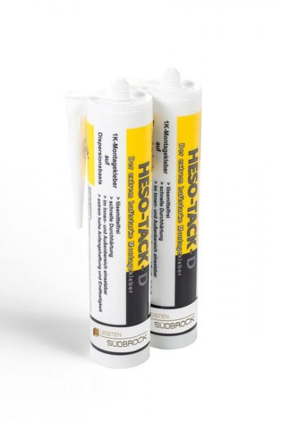 HESO-TACK D Leistenkleber auf Acrylbasis für Sockelleisten aus Holz und MDF
